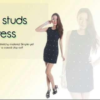 870faf75e29 Studded Bodycon Dress