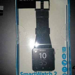 Brand New Unopened Sony Smartwatch 2 with Warranty. Now Selling At $110!