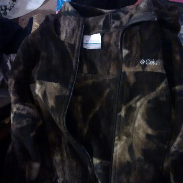 Columbia Camo Jacket kids 4/5 ,..