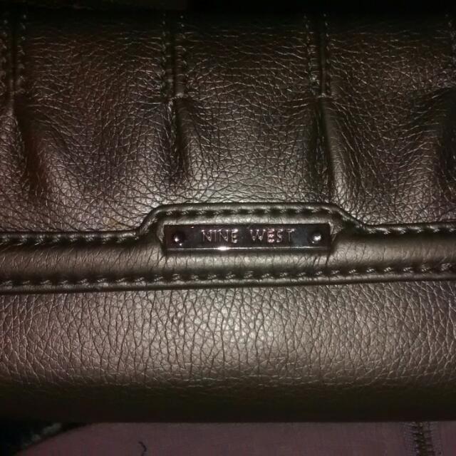 Nine west Wallet. Silver In Colour
