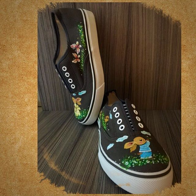 982f1f8c09af4 Painted Converse Shoes