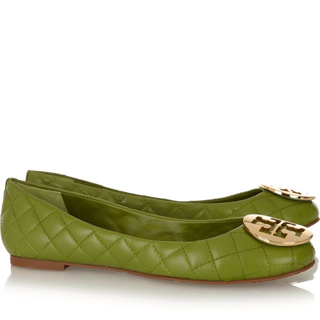 4c742bee71fe Tory Burch Quinn Quilted Leather Ballet Flats