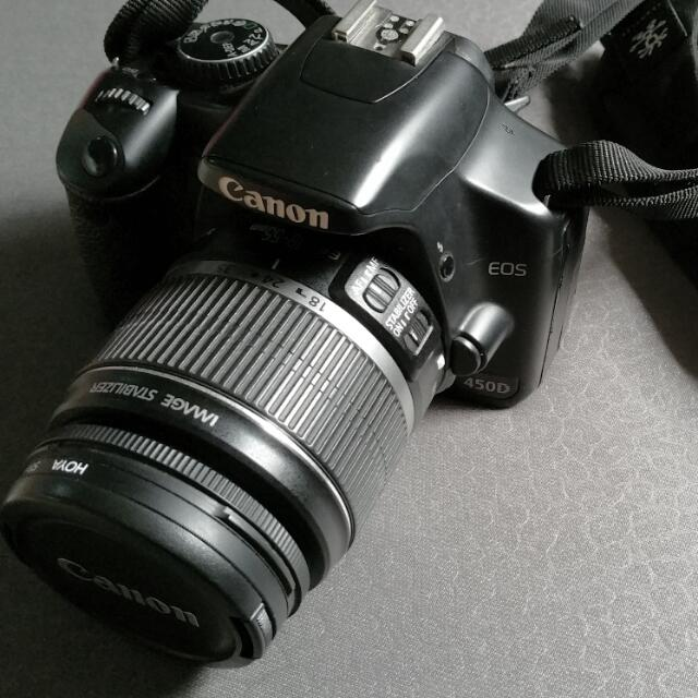 Reduced Price) Used Canon EOS 450D, Photography on Carousell