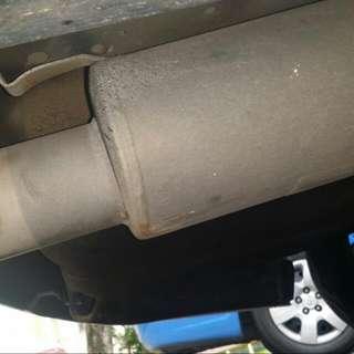 Cs3 Supersprint Exhaust With Swop