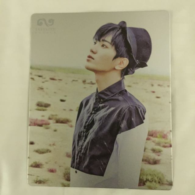Infinite Be Back Sungjong Photocard