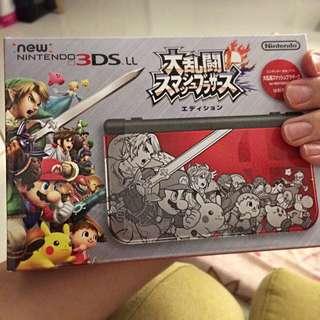 New 3DS LL Smash Bro Limited Ed (BNIB)