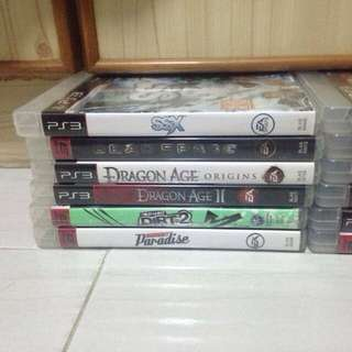20++ PS3 Games For Sale!