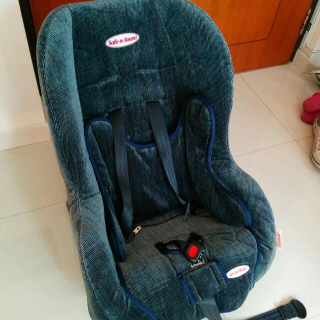 Britax Safe N Sound Guardian Car Seat, Babies & Kids on Carousell