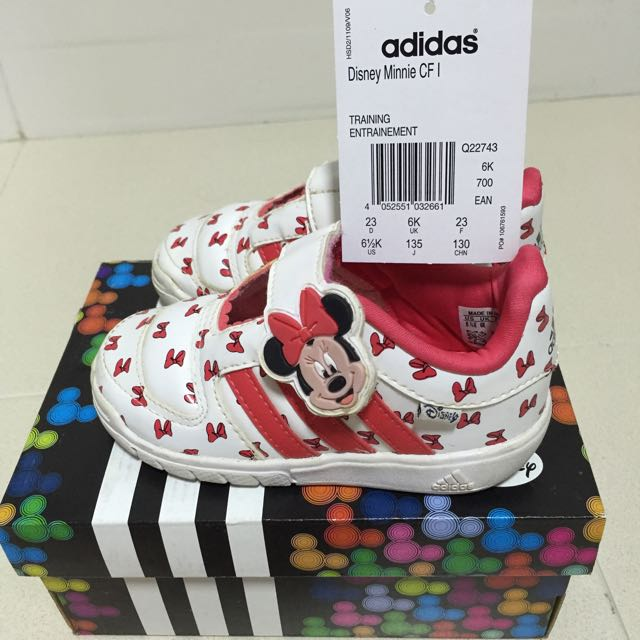 3140c16bd812 Pre-loved Adidas Minnie Mouse Shoes for Sale