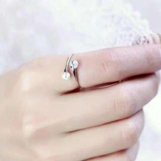 Adjustable Diamond Ring