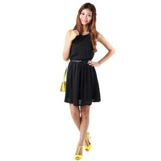 mgp rozane dress in black L