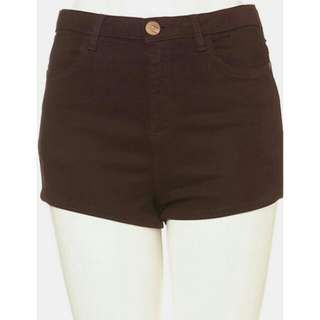 moto topshop hot shorts