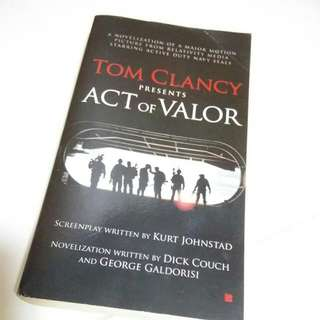 Act Of Valor By Tom Clancy