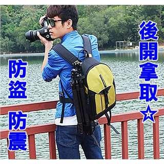 【盛精品】正品TOIMEND 超抗震輕量化☆防盜 3色 單眼相機包+附防雨罩 攝影包/後背包