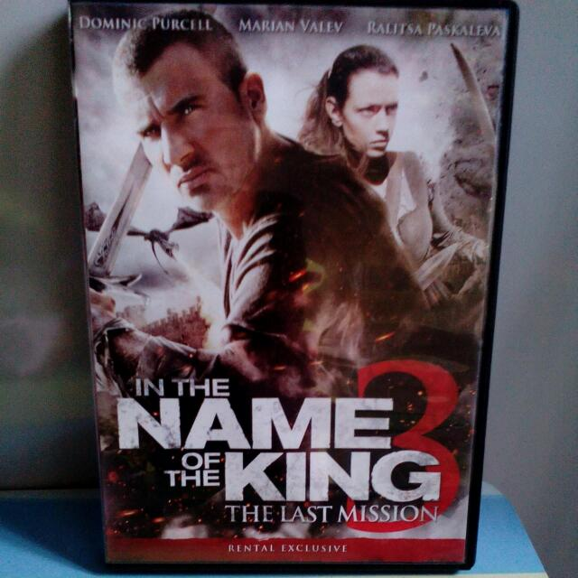 In The Name Of The King 3 The Last Mission Dvd Bulletin Board Looking For On Carousell