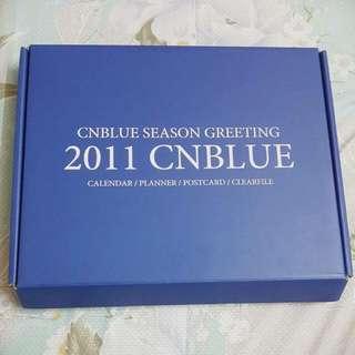 CNBLUE 2011 Season Greeting