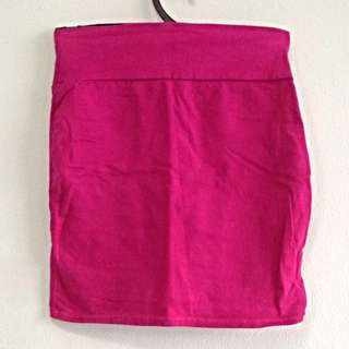 Cotton On Pink Bandage Skirt. Size XS. Collect At Pasir Ris Mrt Station No Trade.