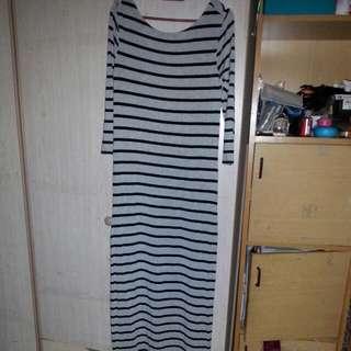 3/4 Sleeve H&M Long Dress