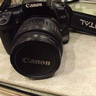 Canon 400D Camera + EFS 18-55mm Lens