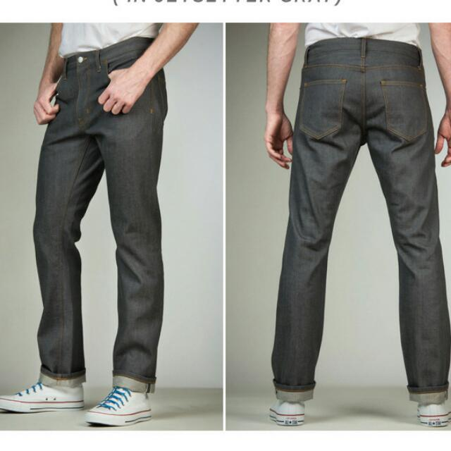 Flint And Tinder Premium Selvedged Denim Jeans Kickstarter Men S Fashion On Carousell