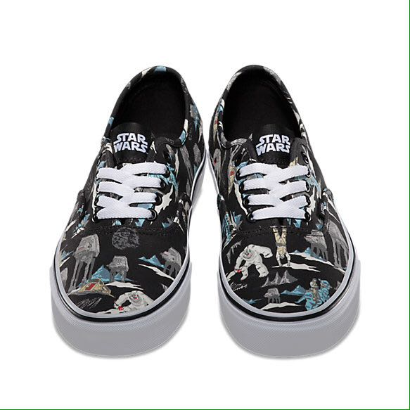 ee99a90b36cde5 Star Wars X Vans Era Dark Side Planet Hoth Shoes