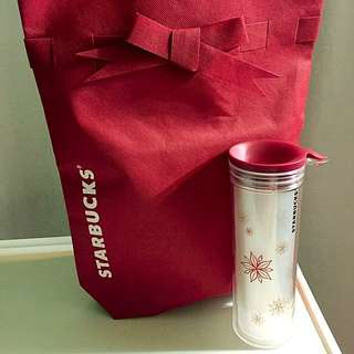 Starbucks Christmas Tumbler (Brand New)