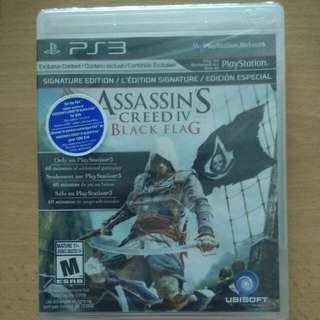 PS3 Assassin Creed Black Flag NEW