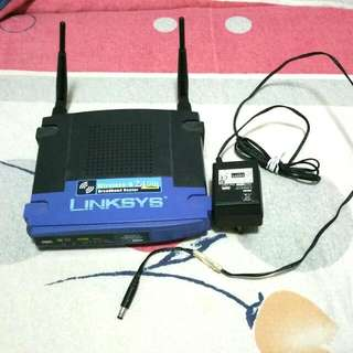 Linksys WRTG54g Wireless Router FREE