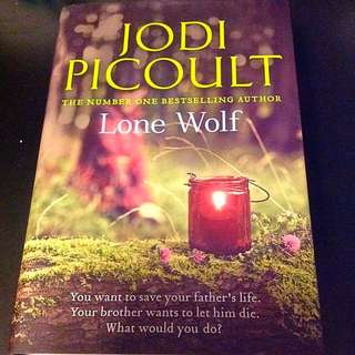 Preloved Lone Wolf By Jodi Picoult