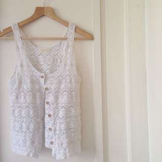 •BRAND NEW• Australia Crochet Vest