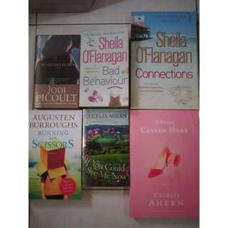 Jodi Picoult Cecelia Ahern And Others!