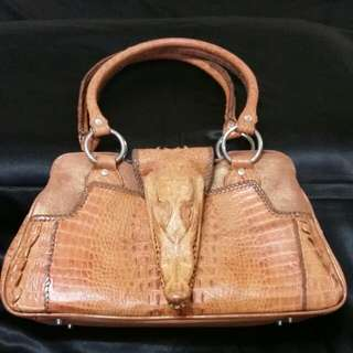 096070c40e Crocodile leather Handbag shoulder bag Designer original genuine