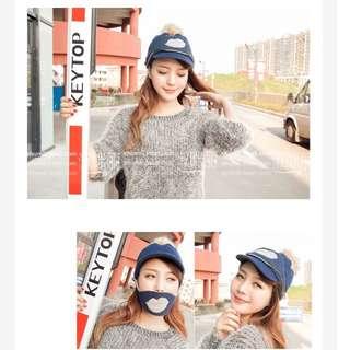 韓版秋冬加厚新款保暖時尚毛線帽
