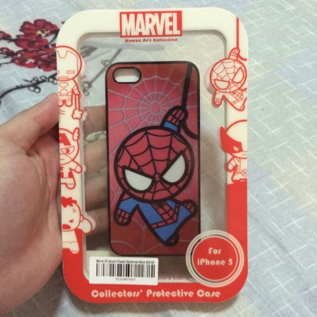 BRAND NEW iPhone 5/5s MARVEL Spider-Man case