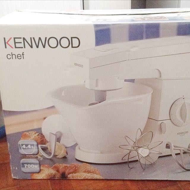 kenwood km300 chef mixer white reserved home appliances on carousell rh sg carousell com Kenwood DDX 370 Instruction Manual Kenwood KDC 155U Manual