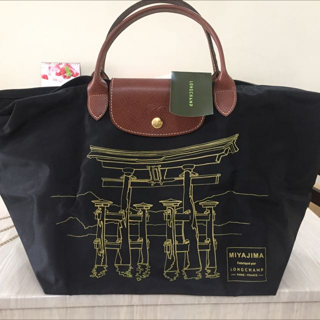 c94ee207e9b Longchamp Limited Edition Le Pliage Miyajima Tote (Not For Fussy Buyer),  Luxury on Carousell