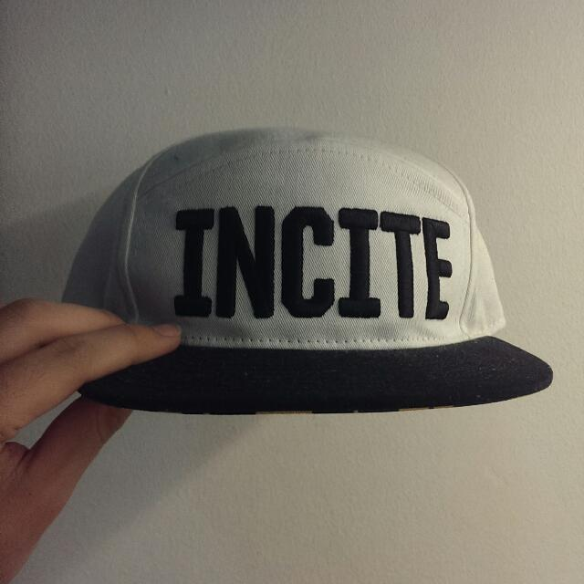 Odd men out Incite Snap Back With Tribal Under Brim Designs