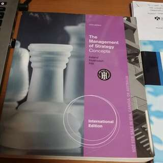 (Reserved) NTU AB3601 Strategic Management TB + Case Reader + Additional Cases
