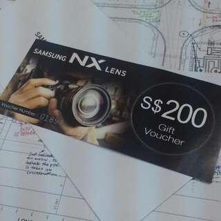Samsung Lens Voucher