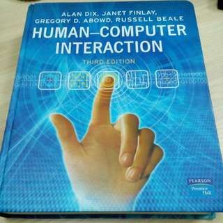 Human Computer Interaction 3rd Edition