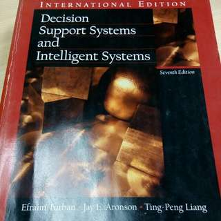 Decision Support Systems And Intelligent System 7th Edition