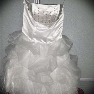 Wedding Gown For Day Shoot