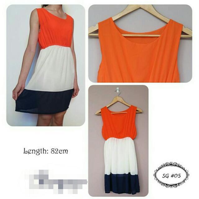 [BRAND NEW] Chiffon Dress