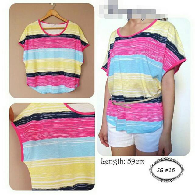 Colourful Stripped Top