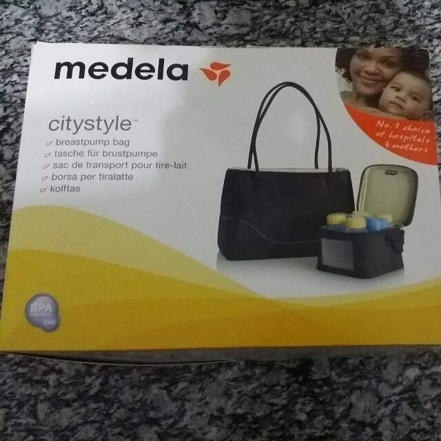 Medela Citystyle Breastpump Bag Babies Kids On Carousell