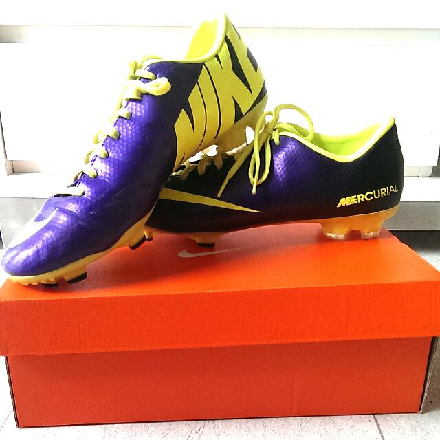 63278c64f90 Nike Mercurial Football Boots Cleats US Size 10