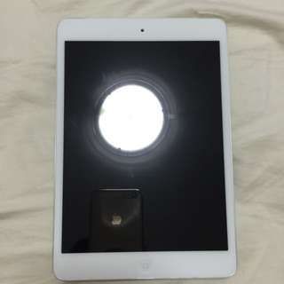 iPad Mini First Generation Wifi+Cellular 32GB White In Mint Condition No Scratches No Dents No Imperfections