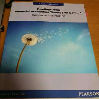 (Reserved) AC3103 Business Valuation Textbooks