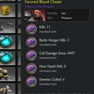 Favoured Blood Chaser Dota 2