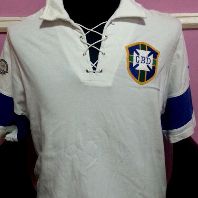 100% authentic 06181 833ed Rare Nike Brazil 100th Anniversary Jersey (Ronaldo), Sports ...